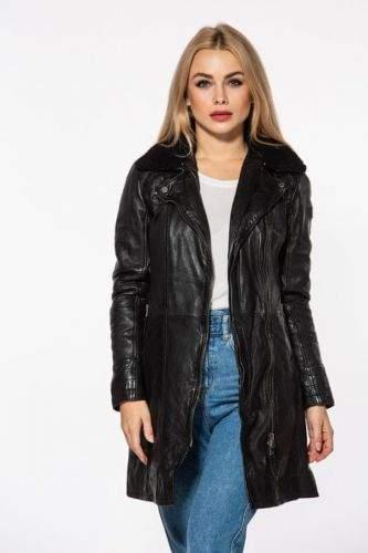 Gipsy Dámský kožený krátký kabát CASSIA