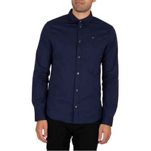 Tommy Hilfiger Pánská košile DM0DM04405-002 (Velikost S)