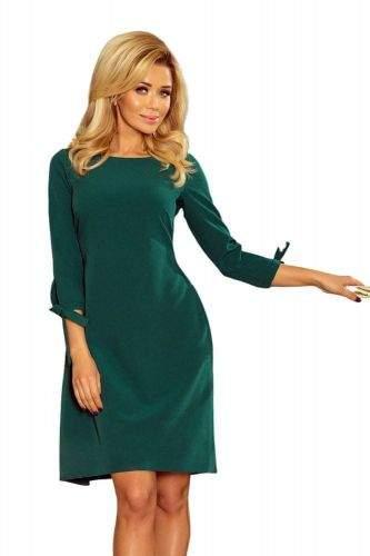 Numoco Dámské šaty 195-1 zelená L