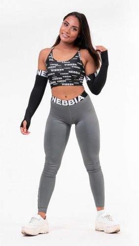 Nebbia Scrunch butt dámské sportovní legíny 691 šedé Velikost: L