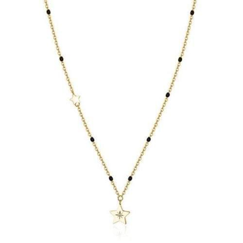 Brosway Pozlacený náhrdelník s hvězdou Chant BAH38