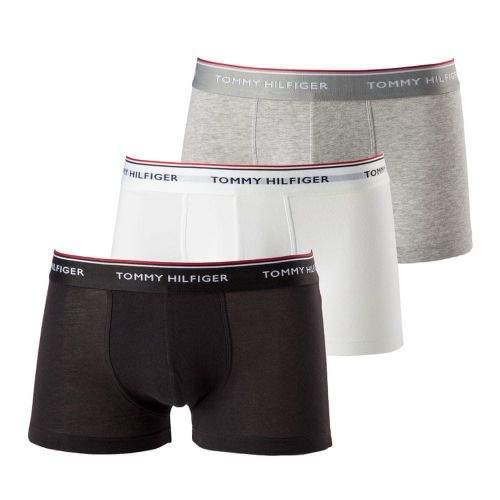 Tommy Hilfiger 3Pack Boxerky Black, Grey&White LR XL