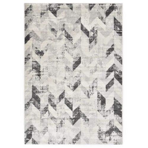 shumee Koberec šedo-bílý 120 x 170 cm PP