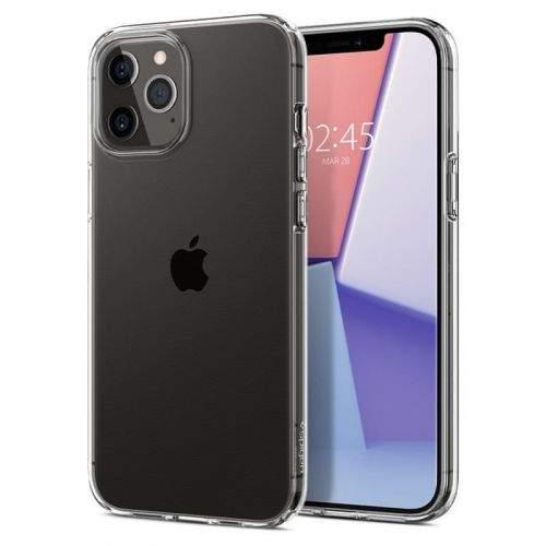 Spigen Liquid Crystal pro Apple iPhone 12/Pro ACS01697, čirý