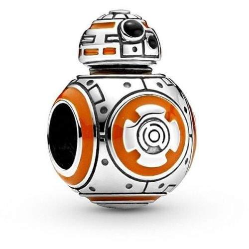 Pandora Stříbrný přívěsek Star Wars Droid BB-8 799243C01