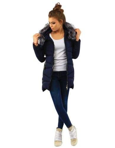 Gemini Dámská prošívaná bunda s kapucí (ty0139) - Pine House tmavě modrá L