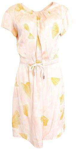 Kookaï Světle růžové šaty s oranžovým vzorem Kookai Velikost: 38