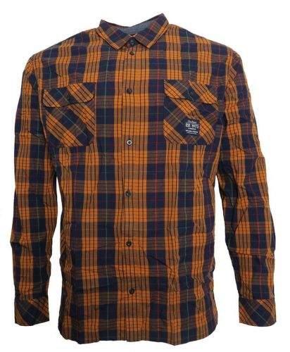 Pepe Jeans Károvaná košile Pepe Jeans modrá/žlutá XXL, Rukáv: Dlouhý