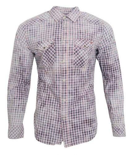 Pepe Jeans Vícebarevná kostkovaná košile Pepe Jeans Růžová XL, Rukáv: Dlouhý