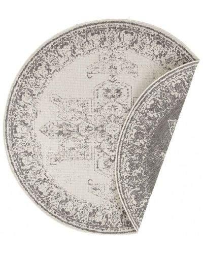Bougari AKCE: 140x140 (průměr) kruh cm Kusový koberec Twin Supreme 104136 Grey/Cream kruh 140x140 (průměr) kruh