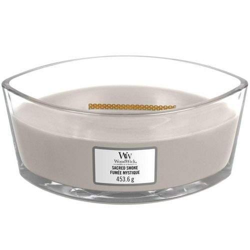 Woodwick vonná svíčka Sacred Smoke (Dřevo Palo Santo) 453 g