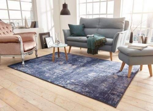Mint Rugs AKCE: 140x200 cm Kusový koberec Golden Gate 102743 Blau 140x200