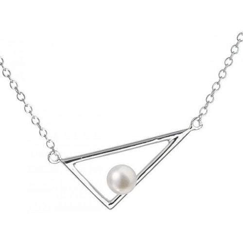 Evolution Group Stříbrný náhrdelník s pravou perlou Pavona 22020.1 stříbro 925/1000