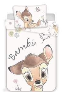 Jerry Fabrics Disney povlečení do postýlky Bambi baby 100x135, 40x60 cm