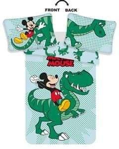 Jerry Fabrics Disney povlečení do postýlky Mickey Dino baby 100x135, 40x60 cm