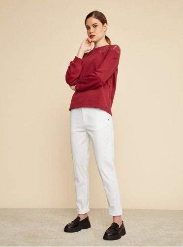 ZOOT Baseline bílé dámské chino kalhoty Heather L