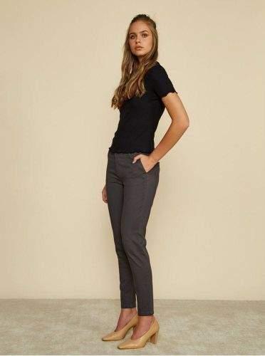 ZOOT Baseline šedé dámské slim fit kalhoty Heather S