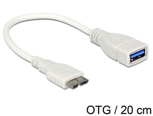 Delock OTG kabel Micro USB 3.0> USB 3.0-A samice