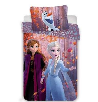 Jerry Fabrics Povlečení Frozen 2 sister purple 140x200, 70x90 cm