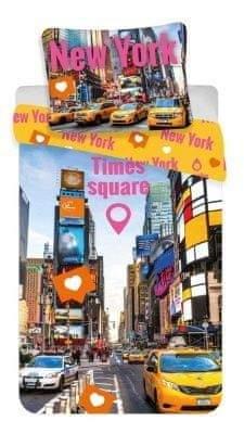 Jerry Fabrics Povlečení fototisk Times Square 140x200, 70x90 cm