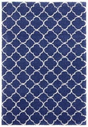 Hanse Home AKCE: 80x150 cm Kusový koberec Grace 104406 Blue/Cream 80x150