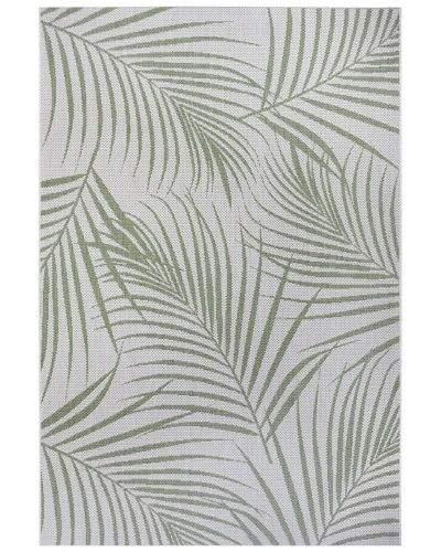 Hanse Home AKCE: 80x150 cm Kusový koberec Flatweave 104849 Cream/Green 80x150