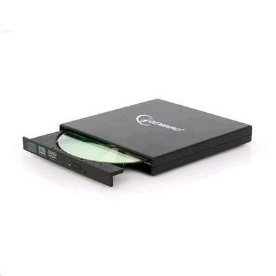 DVD-ROM vypalovačka, externí, USB, GEMBIRD DVD-USB-02