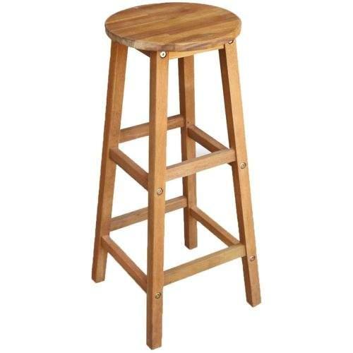 shumee Barové židle 2 ks masivní akácie 34 x 34 x 76 cm