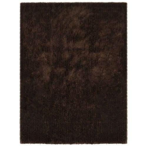 shumee Kusový koberec Shaggy 120 x 160 cm hnědý