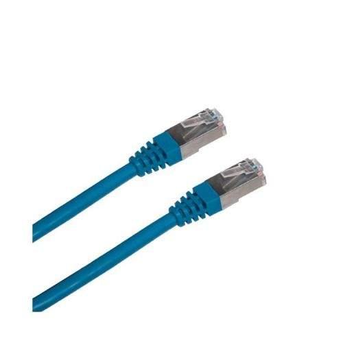OEM DATACOM Patch cord FTP CAT5E 3m modrý
