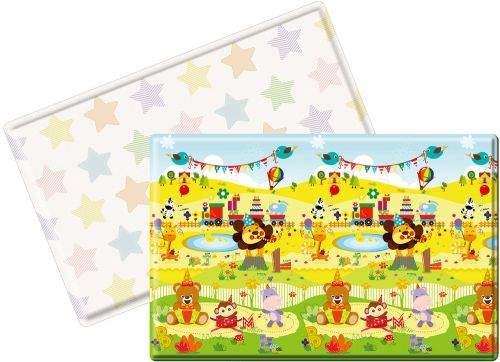 Lalalu podložka na hraní PREMIUM L (200 x 140 x 1.5) - HAPPY BIRTHDAY