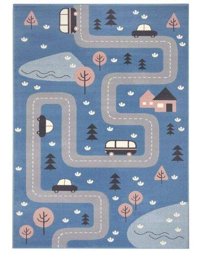 Hanse Home AKCE: 120x170 cm Dětský koberec Adventures 104536 Sky-blue 120x170