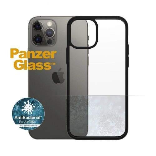 PanzerGlass ClearCase Antibacterial pro Apple iPhone 12/12 Pro 6,1″ Black Edition 0252