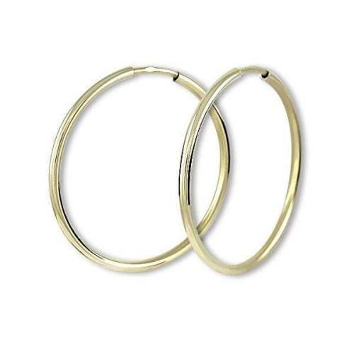 Brilio Náušnice zlaté kruhy 231 001 00485