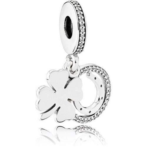 Pandora Stříbrný přívěsek pro štěstí 792089CZ