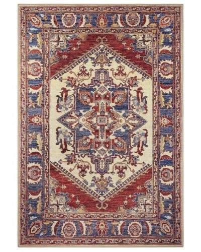 Hanse Home AKCE: 80x150 cm Kusový orientální koberec Chenille Rugs Q3 104804 Red-blue 80x150