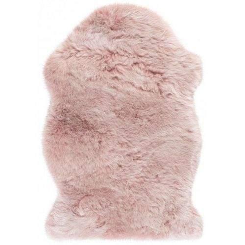 Obsession AKCE: 55x85 tvar kožešiny cm Kusový koberec Samba 495 Powderpink (tvar kožešiny) 55x85 tvar kožešiny