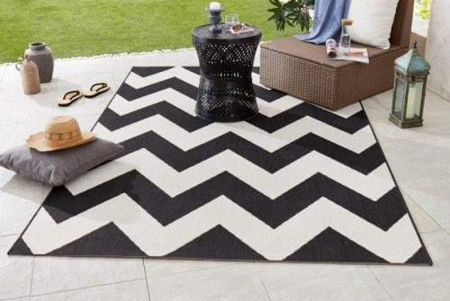 Hanse Home AKCE: 80x150 cm Kusový koberec Meadow 102738 schwarz/creme 80x150