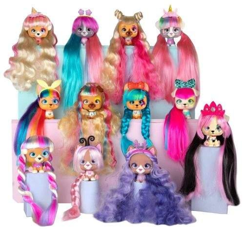 TM Toys VIP Pets pejsek s doplňky, extra dlouhé vlasy
