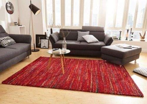 Mint Rugs AKCE: 160x230 cm Kusový koberec Nomadic 102688 Meliert Rot 160x230