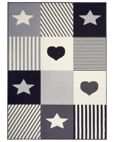 Hanse Home AKCE: 80x150 cm Dětský koberec Adventures 104572 Dark-grey/cream 80x150