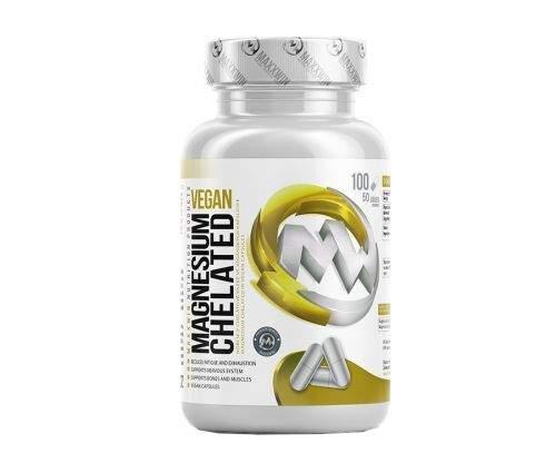 REVI plus s.r.o. MAXXWIN Magnesium Chelated Vegan 100 kapslí