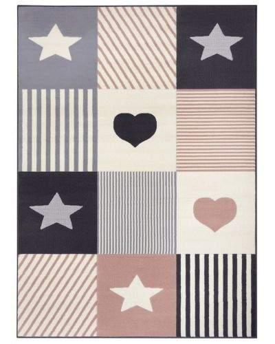 Hanse Home AKCE: 160x220 cm Dětský koberec Adventures 104573 Grey/rose 160x220