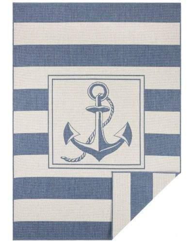 Bougari AKCE: 80x150 cm Kusový koberec Twin Supreme 104143 Blue/Cream 80x150