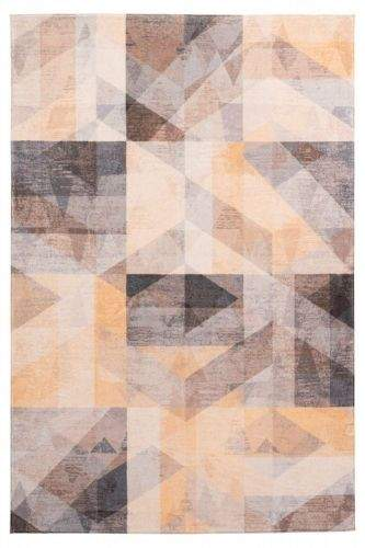 Obsession AKCE: 120x170 cm Kusový koberec Delta 315 mustard 120x170