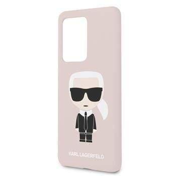 Karl Lagerfeld KLHCS69SLFKPI Karl Lagerfeld Full Body Kryt pro Samsung Galaxy S20 Ultra Pink