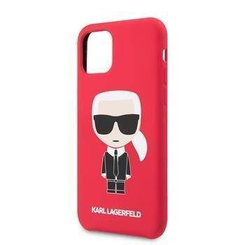Karl Lagerfeld KLHCN61SLFKRE Karl Lagerfeld Iconic Body Kryt pro iPhone 11 Red