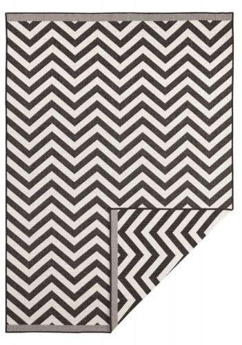 Bougari AKCE: 200x290 cm Kusový koberec Twin Supreme 103433 Palma black creme 200x290