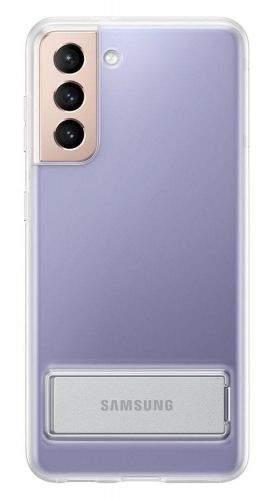 Samsung EF-JG991CT Clear Standing Cover S21 EF-JG991CTEGWW, čirý