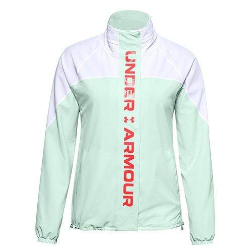 Under Armour Recover Woven CB Jacket-WHT, Recover Woven CB Jacket-WHT | 1360569-100 | LG